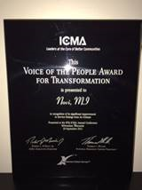 ICMA Voice of the People Award