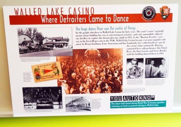Mortorcities Marker - Walled Lake Casino: Where Detroiters Came to Dance
