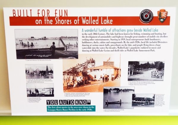 Mortorcities Marker - Built for Fun: The Shores of Walled Lake